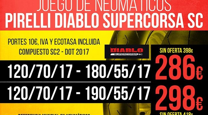 PROMOCION DIABLO SUPERCORSA 2018