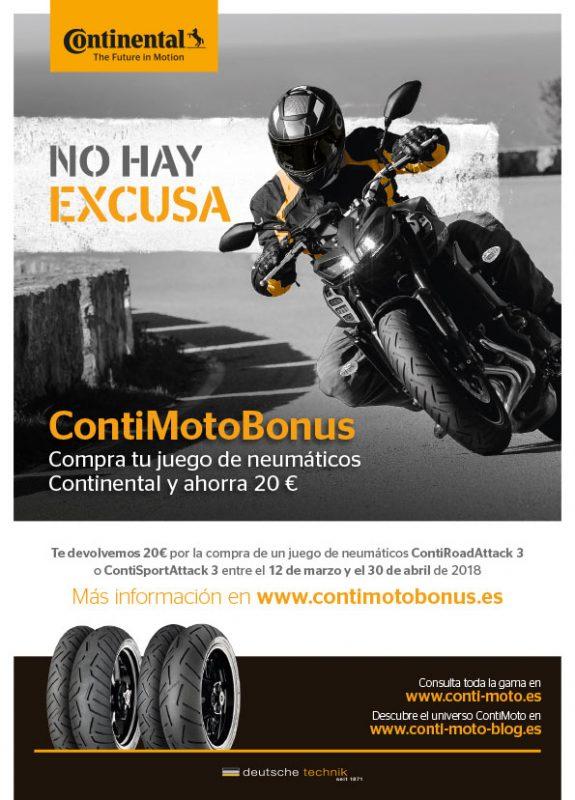 contimotobonus - ahorra 20€ con Continental