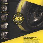 Promocion Neumaticos Dunlop 40€ descuento