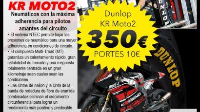 Promoción Neumáticos DUNLOP KR MOTO2 120/75/17-195/75/17