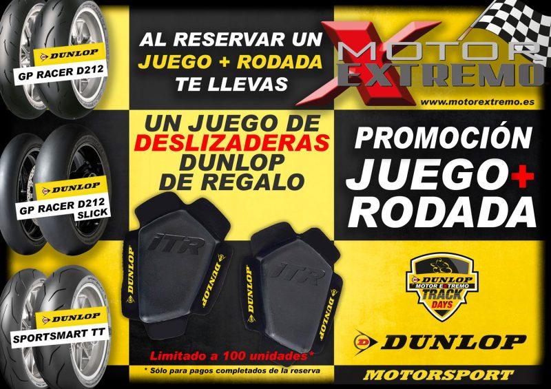 Promoción Deslizaderas Dunlop de Regalo